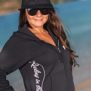 ladies-pink-fishing-bass-hoodie