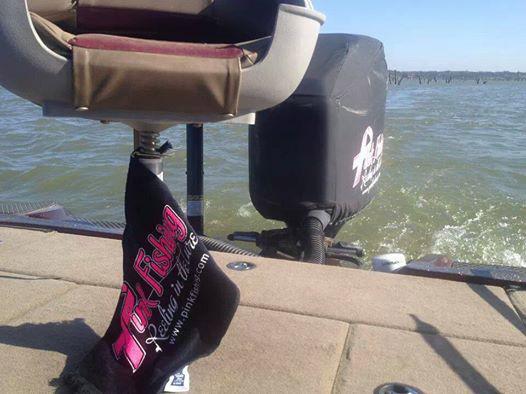 pink-fishing-bait-towel