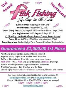 2nd Annual Reeling in the Cure Tournament September 9, 2017