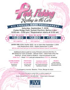 4rd Annual Reeling in the Cure Tournament