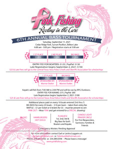 6rd Annual Reeling in the Cure Tournament