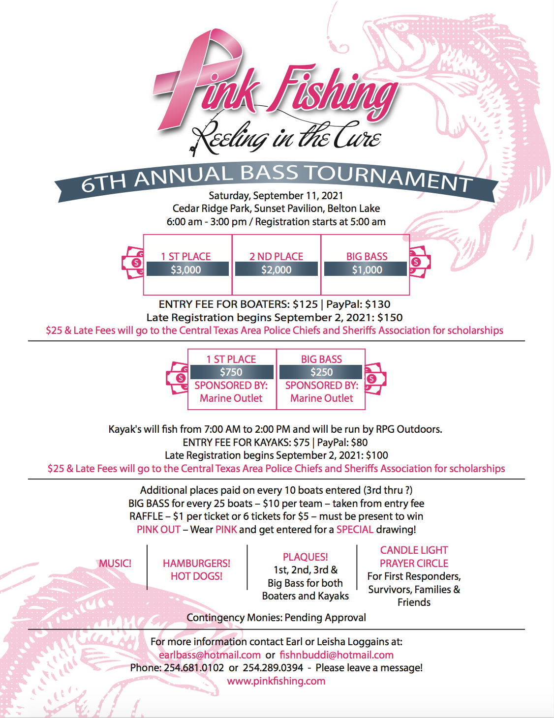 6th Annual Reeling in the Cure Tournament