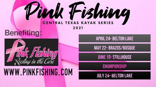 Central Texas Kayak Series 2021 flyer