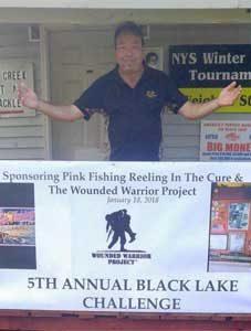 Fish Creek Bait and Tackle, Black Lake Challenge January 18, 2018