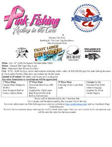 Pink Fishing Tog Beatdown flyer