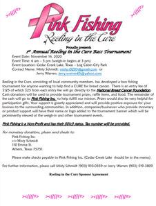 Tournament 11.14.2020 Cedar Creek Lake, Texas Misti